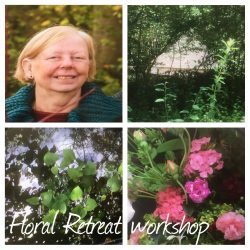 Escape to the woods woodland Floral retreat
