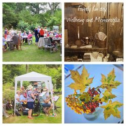 family fun day wellbeing and memoriabilia event